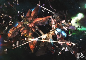 Art of Shinanju VS Unicorn (Made in Lightwave 3D