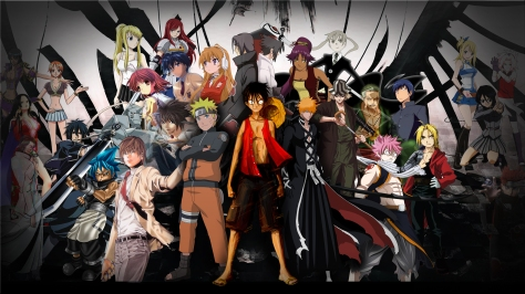 What would happen if all the anime characters fighting against us ??? [click the picture to view bigger]