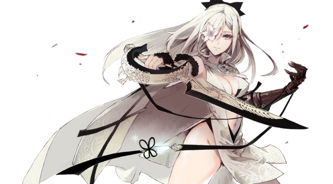 Drakengard 3 Beriklan Dengan Type General dan Hard Version