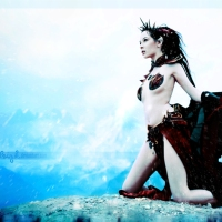 [Cosplay] of The Week -> Dark Elf Sorcerer from The Series Warhammer